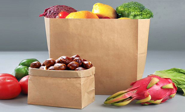 recyclable Kraft food packing bags