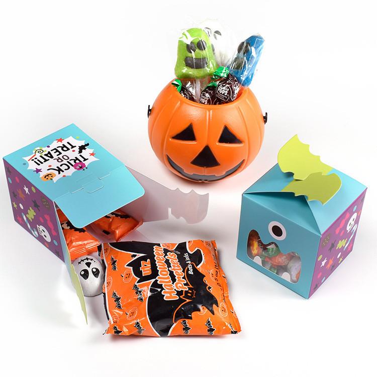 Window Style Halloween favor boxes