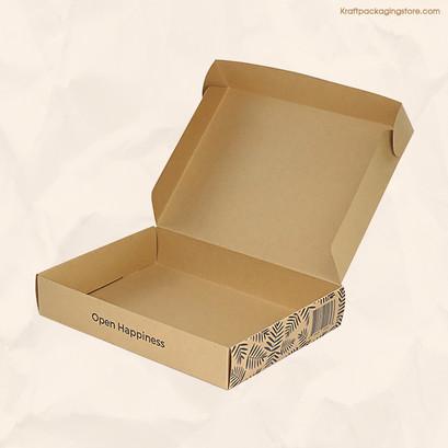 Recycled custom Kraft subscription box
