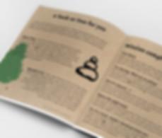 Kraft paper for making Kraft brochure