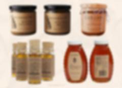 Kraft stickers for jar bottle packaging