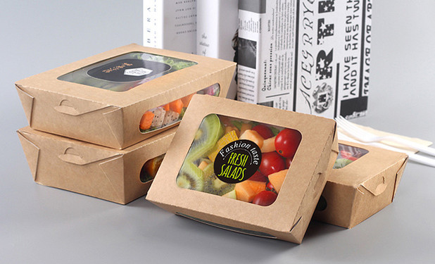 Kraft disposable pasta salad boxes