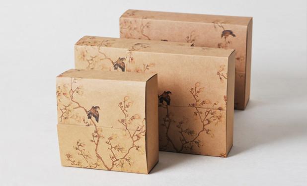 Beautiful artwork kraft Printed gift boxes