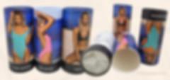 Bikini dress clothes packaging cardboard tubes