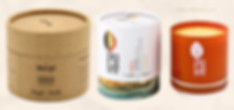Customized candle packaging tube boxes