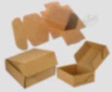 Kraft boxes as mailer packaging