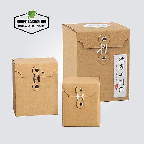 Brown Corrugated Kraft Board Paper Packaging Box for Jam Honey Jar