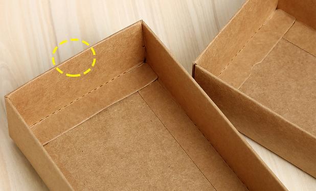 Kraft paper top bottom box for sock packaging