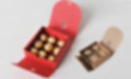Ribbon closure Kraft gift boxes packaging