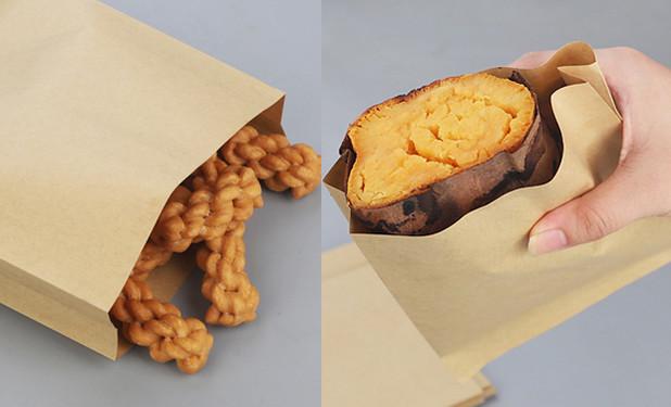 Food grade small kraft paper bags