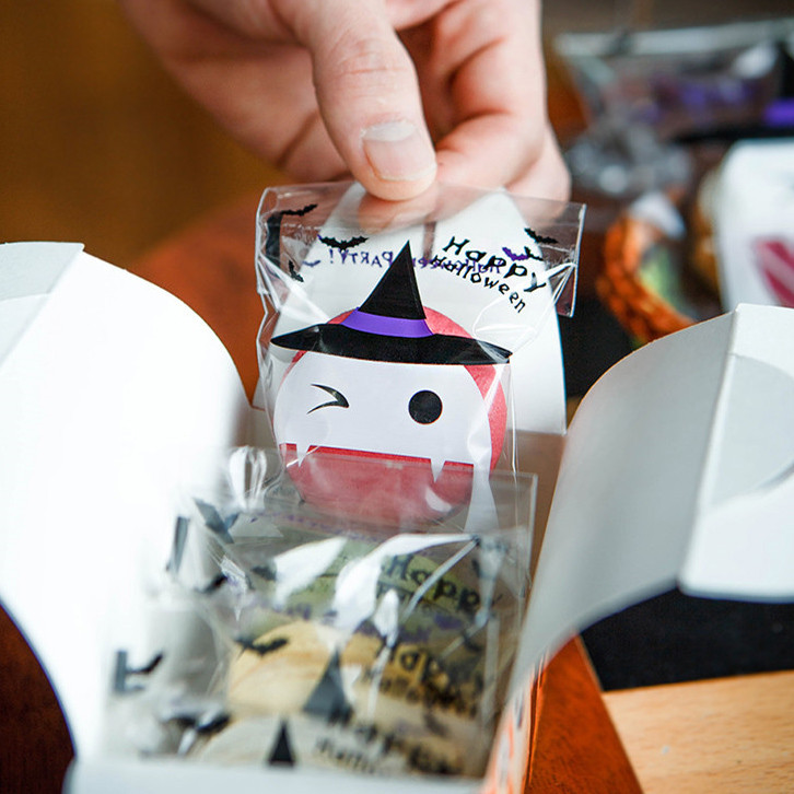 Gable Top Halloween treat boxes