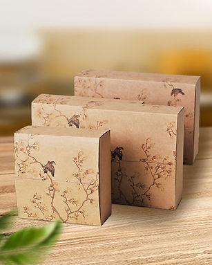 Printed Kraft paper gift box packaging