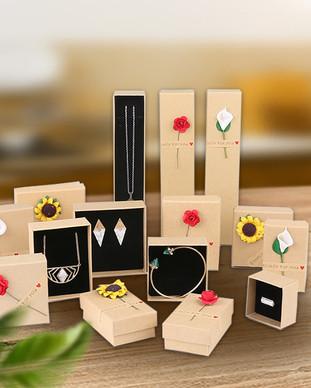Kraft Jewelery gift boxes wholesale.jpg