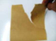 Tensile force of Kraft paper