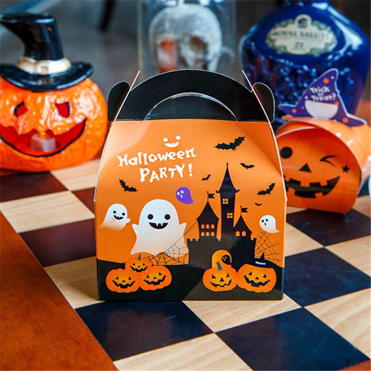 Gable Top Halloween treat boxes