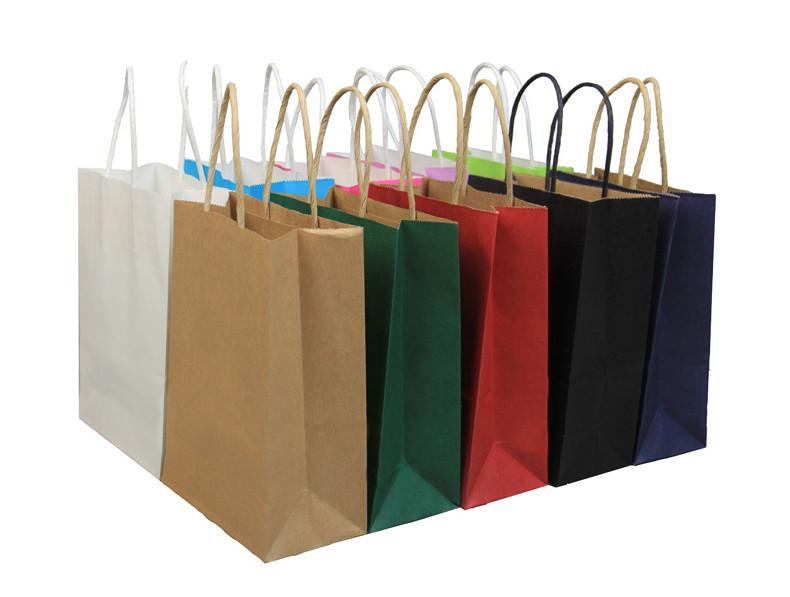 Wholesale Kraft paper gift bags