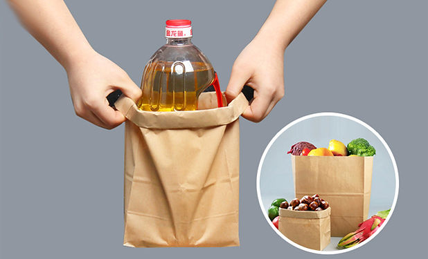 High tenacity Kraft paper food bags