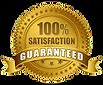 100 satisfaction guranteed