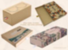 Custom printed rigid kraft drawer boxes