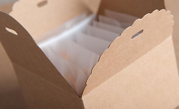 Kraft cookie boxes packaging