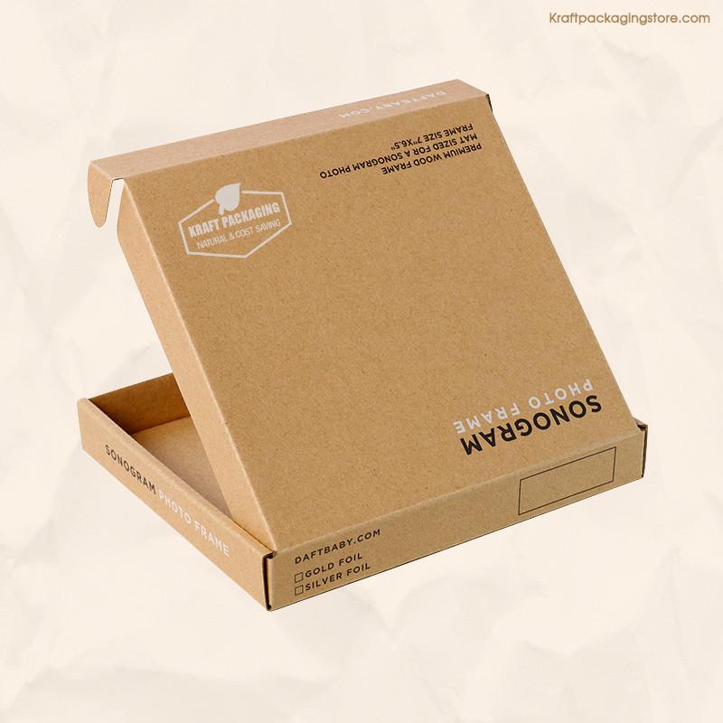 Personized Kraft printed mailer box