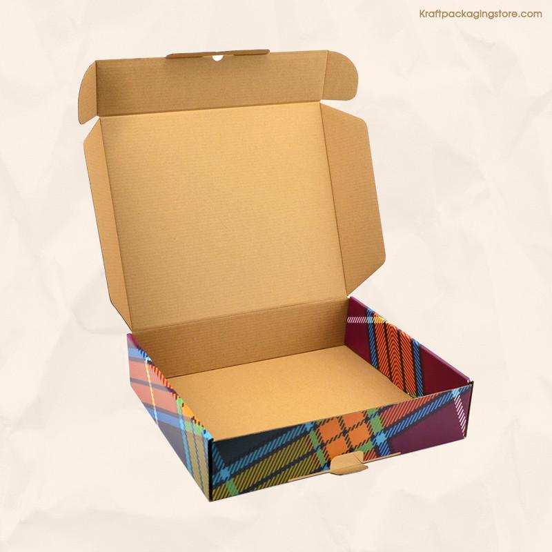 CMYK cusotmized printed Kraft boxes