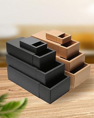 Kraft paper slide drawer box wholesale in various sizes