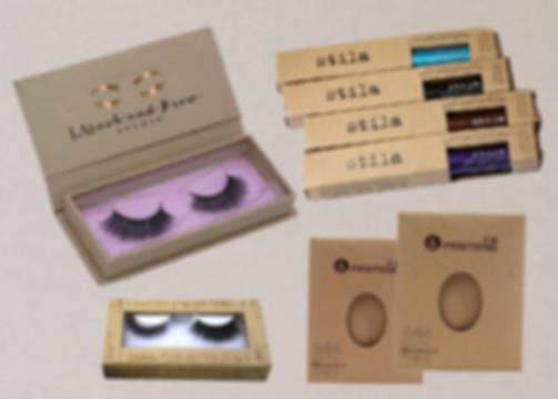Kraft eyelash Eyeliner boxes.jpg