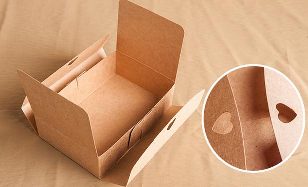 Easy assembly Silk ribbon closure cheap Kraft flat pack gift boxes