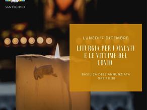 Liturgia per i malati e le vittime del covid