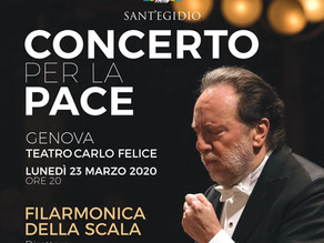 Rimborso biglietti Concerto per la Pace