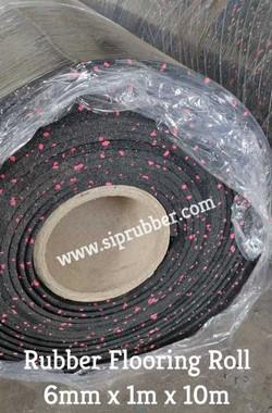 SIP Rubber Roll Gym Mat