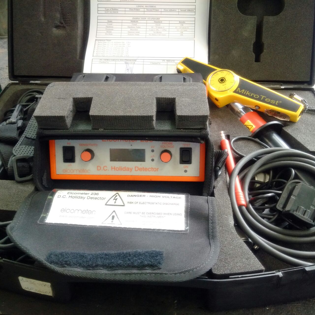 Test Equipment - SIP Rubber