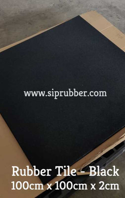 SIP Rubber Tile Gym Flooring