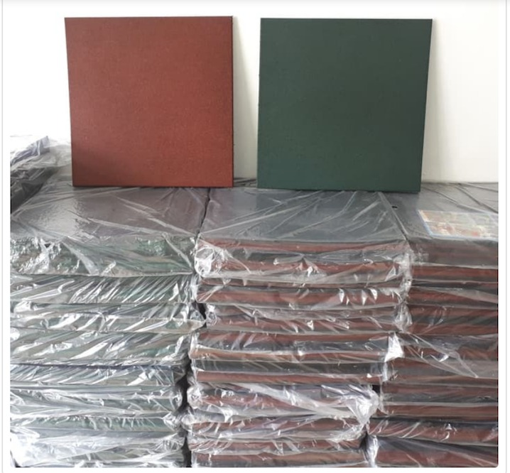 Rubber Tile SIP Rubber
