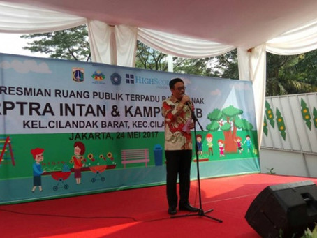 RPTRA Intan, Cilandak Memakai Produk SIP Rubber