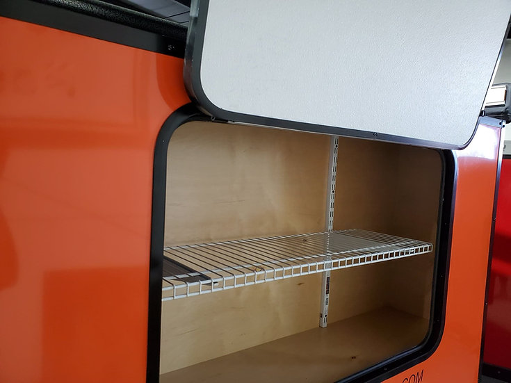 Shelf in Back Cargo Unit