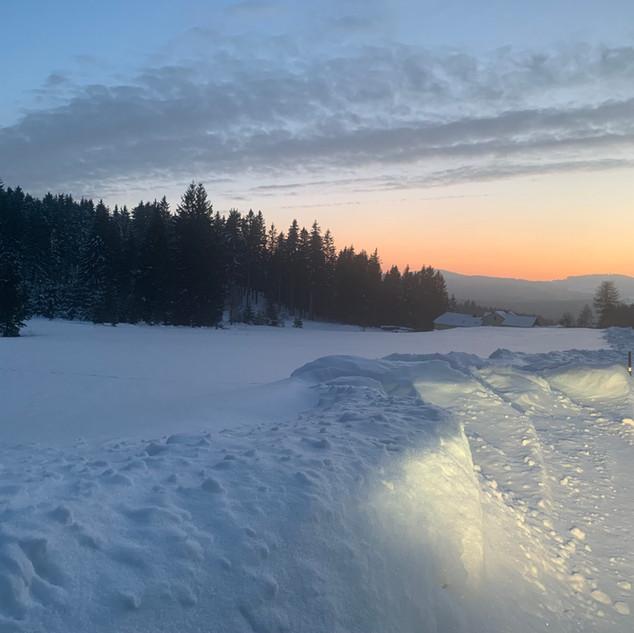Winterliches Waldviertel