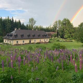 Das Forsthaus Langschlägerwald