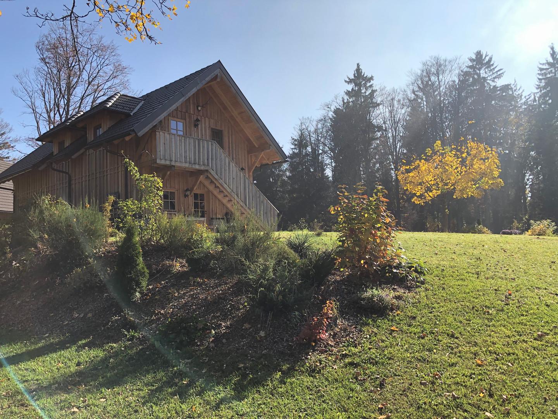 Das Gästehaus in Herbststimmung