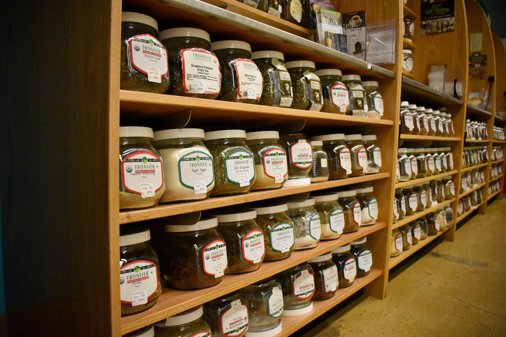 Check out all of our bulk spices and herbs!