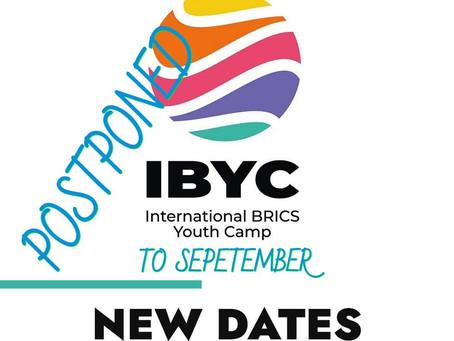 brics youth camp postponed to september
