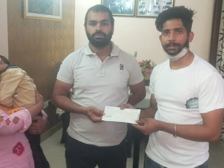 RS 1 LAKH DONATED TO SAVE 3-YEAR-OLD WITH SPINAL MUSCULAR ATROPHY