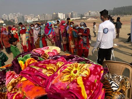 Blanket Distribution Camp