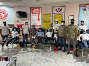 IYES Foundation organized blood donation camp on Environment Day
