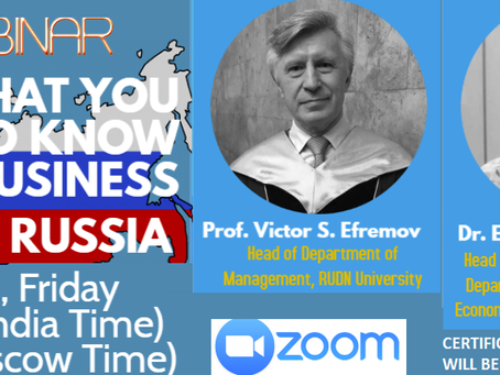 webinar: What you need to know to do business in Russia