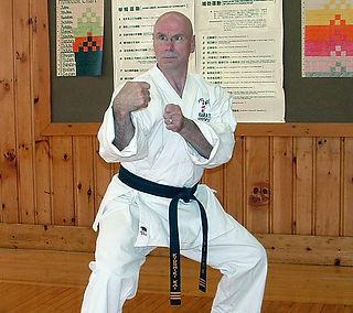 Uechi-Ryu Certified Master Jim Wasielewski