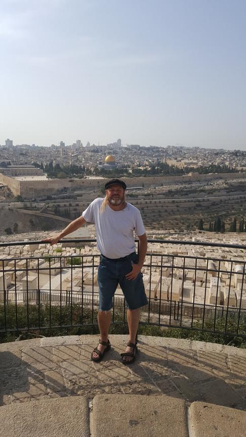 Keitz on Mt Of Olives
