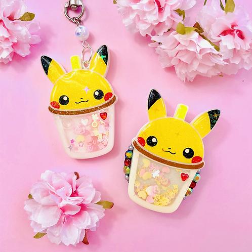 Pikachu bubble tea cup
