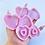 Thumbnail: Double heart molds